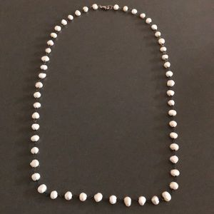 """Silpada fresh water pearl necklace 32"""" never worn"""